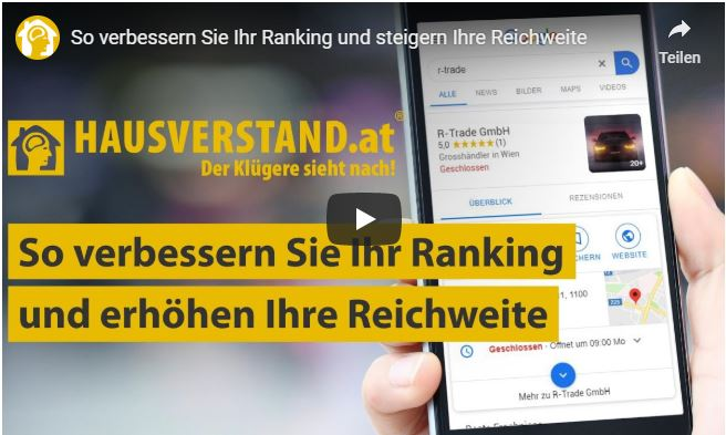 HAUSVERSTAND Local Business Listings Video